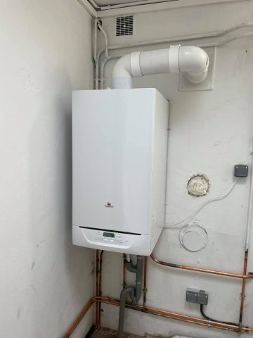Changement ou remplacement de chaudière gaz à condensation Saunier Duval à Clermont-Ferrand